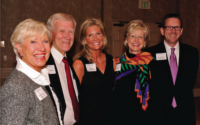 Ute Haberecht, Jim Jones, Caroline Haberecht-Moore, Ada Jones and Dr. Michael Haberecht