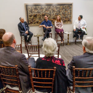 Panelist at the Meetings of the Mind event