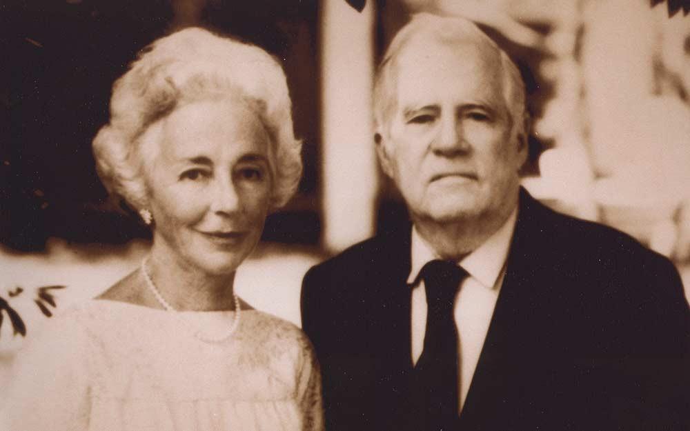 Margaret and Eugene McDermott